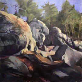 THIESSARD Marc - Aux trois pignons Fontainebleau